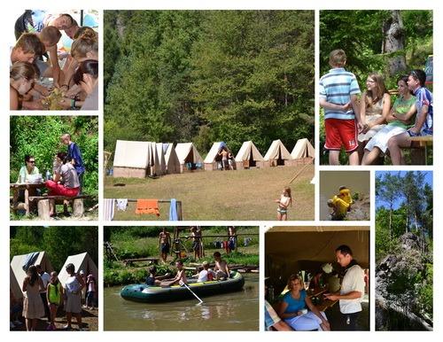 Skautský letný tábor