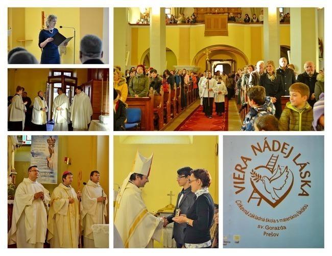 25. výročie Cirkevnej základnej školy sv. Gorazda