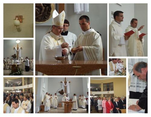 Konsekrácia kostola v Ruskej N. Vsi 2012