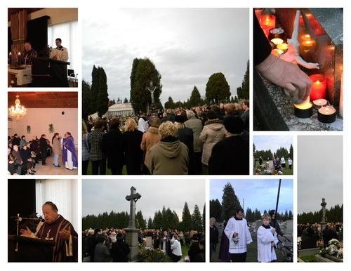 Pamiatka na všetkých verných zosnulých 2012