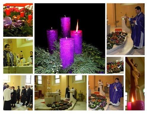 Požehnanie adventných vencov 2012