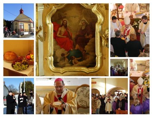 Požehnanie kostola v Haniske