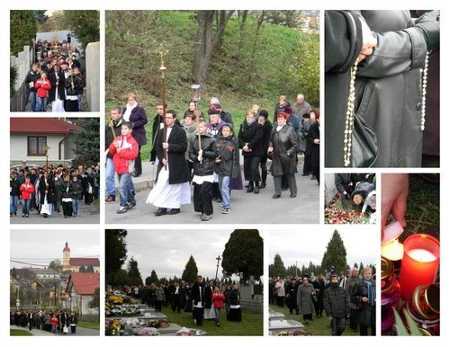 Procesia na cintorín v oktáve 2012