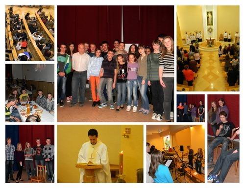Celofarská mládežnícka sv. omša v Teriakovciach 2013