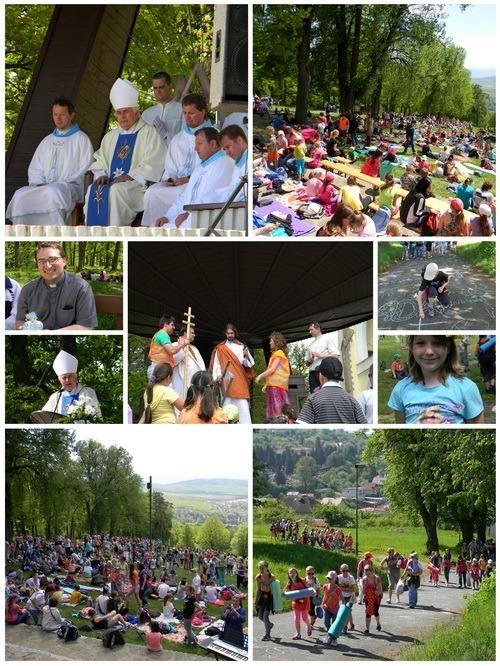Misijná púť detí do Levoče 2013