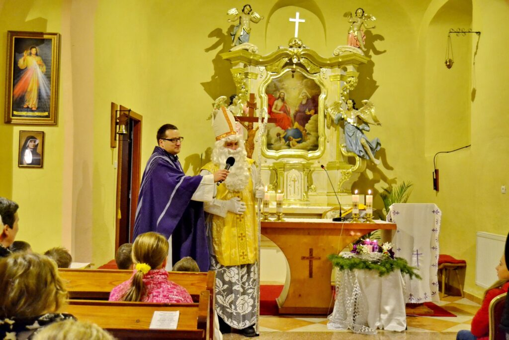 Sv. Mikuláš prišiel aj do našej farnosti