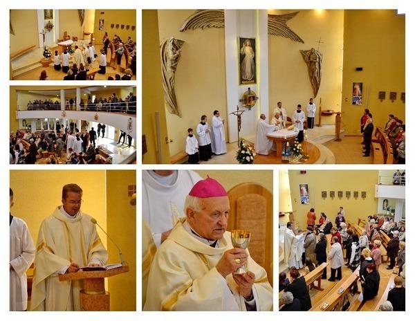 Piate výročie posviacky kostola Božieho milosrdenstva v Teriakovciach