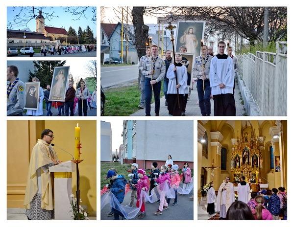 Vigília sviatku Božieho milosrdenstva 2016