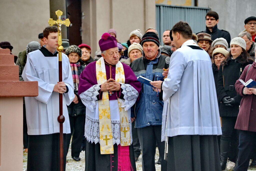 Požehnanie kaplnky sv. Jána Nepomuckého na Soľnej Bani