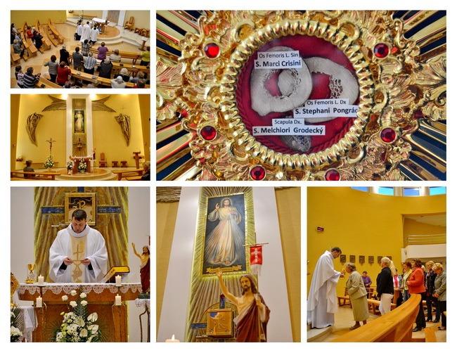 Relikvie sv. Košických mučeníkov v Teriakovciach