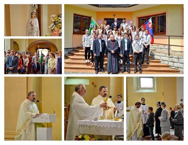 Odpustová slávnosť Najsvätejšej Trojice 2015