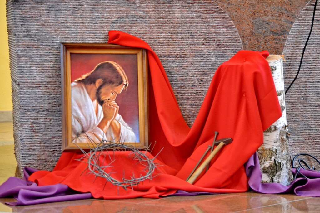 Sv. hodina Getsemani večer pred prvým piatkom