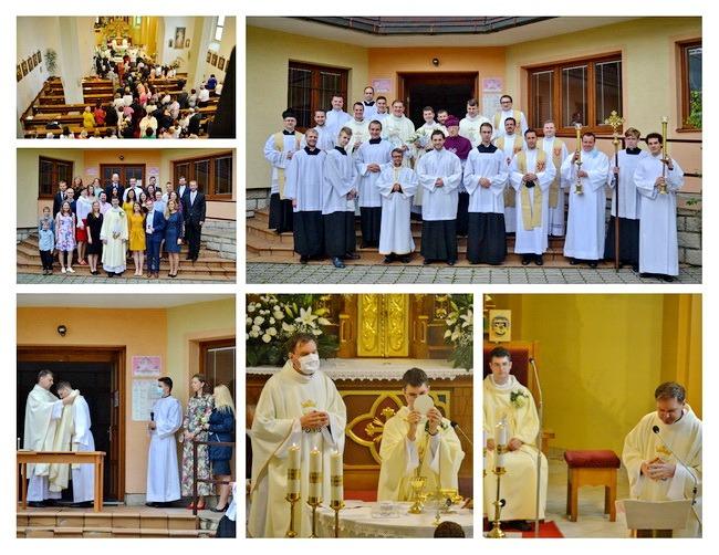 Primície novokňaza dp. Dominika Adamčíka