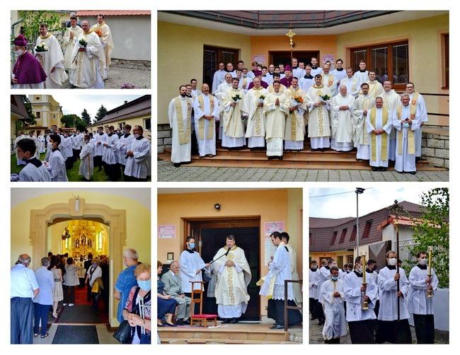 Primície novokňaza dp. Karola Saksu